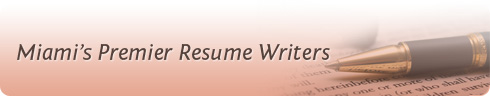 Miami's Premier Resume Writers